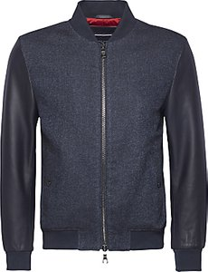 Read more about Tommy hilfiger robin mix media bomber jacket navy