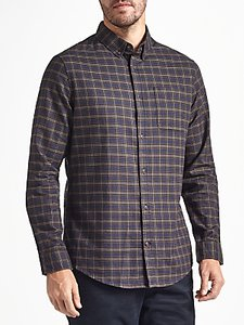 Read more about John lewis addison check shirt navy