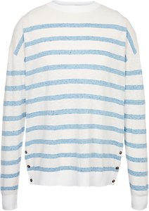 Read more about Fat face salcombe stripe jumper white