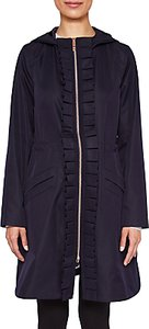 Read more about Ted baker zowe ruffle detail parka navy