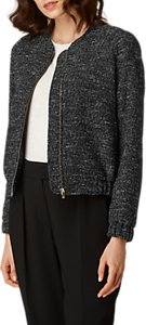 Read more about L k bennett shelby tweed bomber jacket black tweed