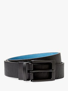 Read more about Kin by john lewis reversible belt black blue