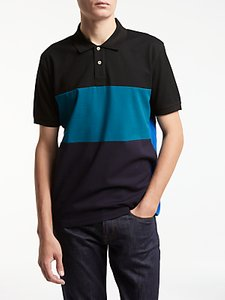 Read more about Ps by paul smith block stripe polo black