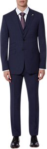 Read more about Ted baker vienaj check tailored suit jacket blue