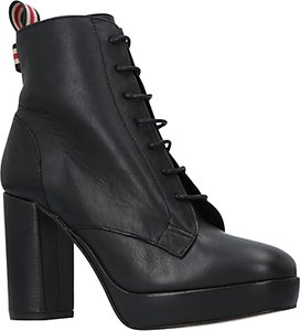 Read more about Kg by kurt geiger spring lace up ankle boots black