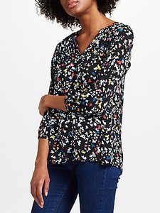 Read more about Collection weekend by john lewis lavinia bird print top black multi
