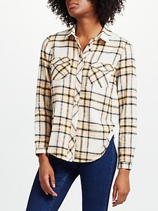 Read more about Collection weekend by john lewis jessa check shirt pink yellow