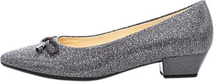 Read more about Gabor ackroyd pointed toe court shoes pewter