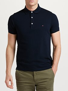 Read more about Tommy hilfiger slim polo shirt navy