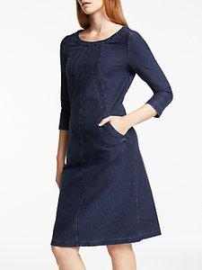 Read more about Boden hannah denim dress indigo