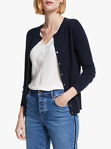 Read more about Boden cashmere crew neck cardigan
