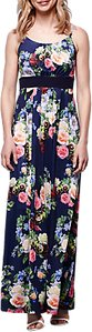 Read more about Yumi floral maxi dress navy