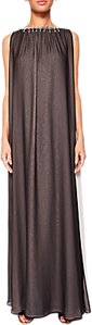 Read more about Ted baker ishani embellished two-tone maxi dress black
