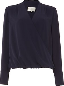 Read more about Damsel in a dress tabi blouse navy