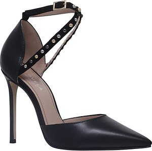 Read more about Carvela acid stiletto heeled court shoes black