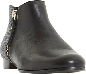 Read more about Dune panders block heeled ankle boots black