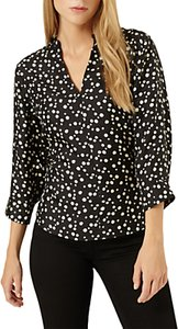 Read more about Damsel in a dress hexa print blouse black beige