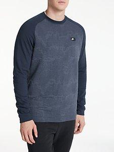 Read more about Nike sportswear modern crew sweatshirt obsidian thunder blue