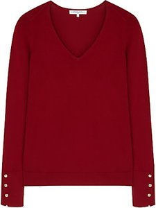 Read more about Gerard darel v-neck jumper red