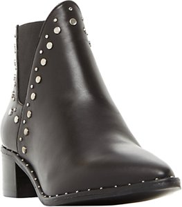 Read more about Steve madden doruss studded ankle chelsea boots black leather