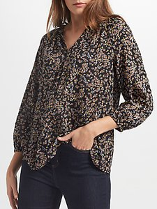 Read more about Collection weekend by john lewis ditsy floral print top black multi