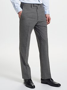 Read more about Kin by john lewis end on end slim fit suit trousers mid grey
