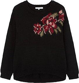 Read more about Gerard darel luke floral feature jumper black multi