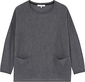 Read more about Gerard darel lewis pocket detail jumper grey