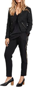 Read more about Hush haywood cropped jacket black gold
