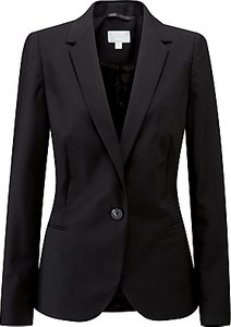 Read more about Pure collection tailored blazer black