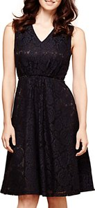 Read more about Yumi lace midi dress black