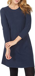 Read more about Fat face simone knitted dress navy