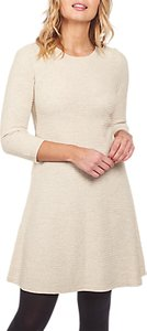 Read more about Fat face simone knitted dress ivory