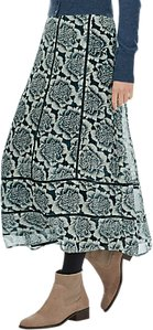 Read more about Brora silk beaded chiffon skirt neptune flower