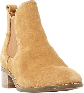 Read more about Steve madden dicey ankle chelsea boots taupe suede