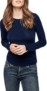 Read more about Gerard darel laora pure wool round neck jumper deep blue