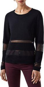 Read more about Finery craster rippled stitch knitted jumper black