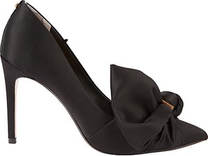 Read more about Ted baker dorabow stiletto heeled court shoes black