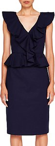 Read more about Ted baker igune ruffle midi dress navy