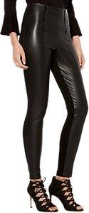 Read more about Karen millen faux leather button leggings black