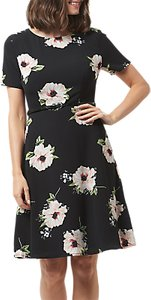 Read more about Sugarhill boutique ohara bold floral dress black