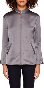 Read more about Ted baker dannee hot fix bomber jacket mid grey