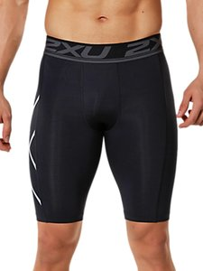 Read more about 2xu accelerate compression men s shorts black silver