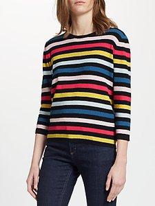 Read more about Collection weekend by john lewis pique stripe jumper multi
