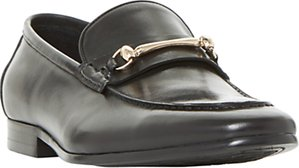 Read more about Dune pinnochio classic snaffle loafers black