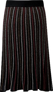 Read more about Pure collection stripe knitted midi skirt