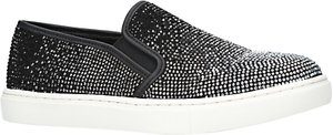 Read more about Carvela jamie embellished slip on trainers