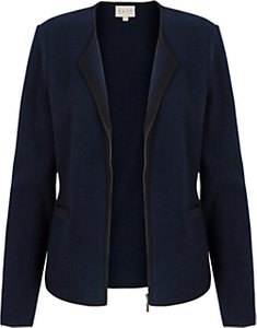 Read more about East piped boiled wool jacket ink
