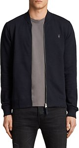 Read more about Allsaints raven bomber jersey cardigan