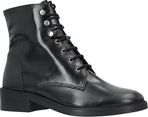 Read more about Carvela skewer lace up ankle boots black